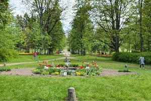 Tulbiväli Kirna mõisa pargis