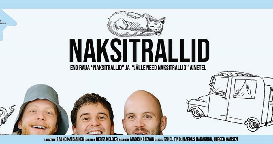"""Etendus """"Naksitrallid"""", Kuressaare Teater"""