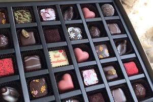 Workshop i tillverkning av chokladpraliner