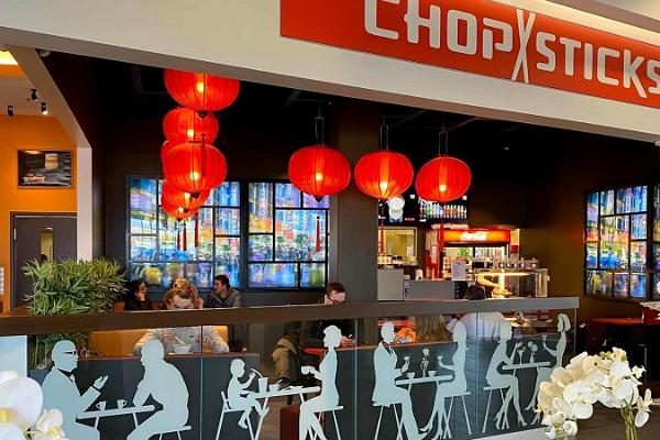 Chopsticks Kaubamajakassa
