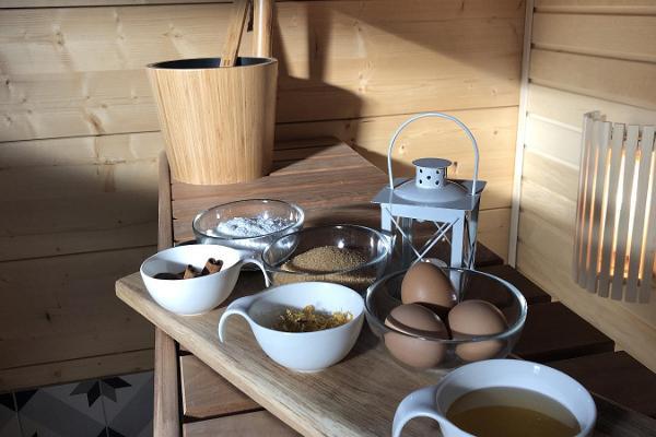 Saunamaskide valmistamine koos majutusega Karukella puhkemajas