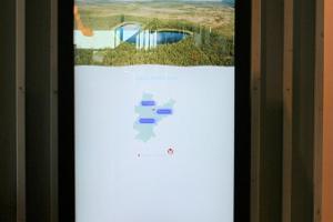 Järvamaa elektrooniline turismiinfokiosk restoranis Tikupoiss