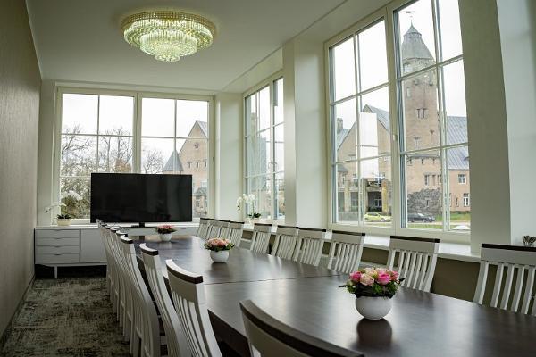 Seminarielokaler i Wagenküll slottsspa