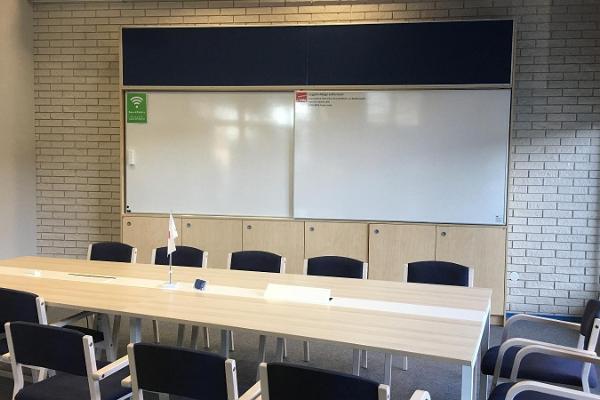 Seminarierummet i SPARK Demo – ett demo- och evenemangscenter för företag