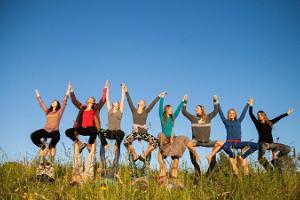 Adventurous acroyoga workshops for teams