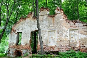 Uue - Saaluse Mõisa varemed