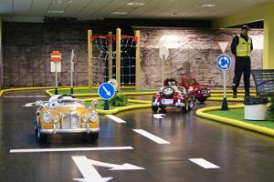 Verkehrspark für Kinder