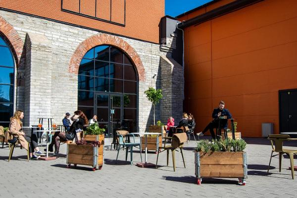 Fotografiska Café & Backyard