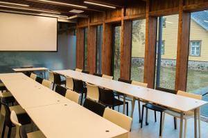 Помещения для проведения семинаров приходской школы-музея Оскара Лутса в Паламусе