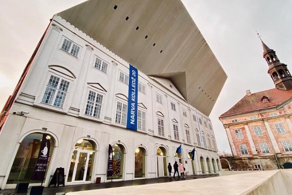 Tarton yliopiston Narvan oppilaitoksen rakennus