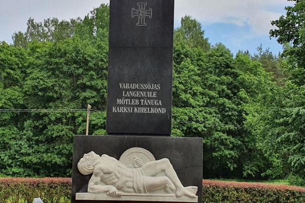 Vabadussõja mälestusmärk Karksi-Nuias