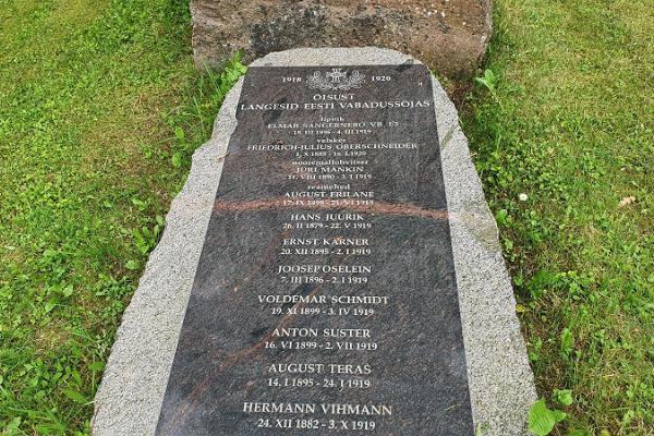 Vabadussõja mälestusmärk Õisus