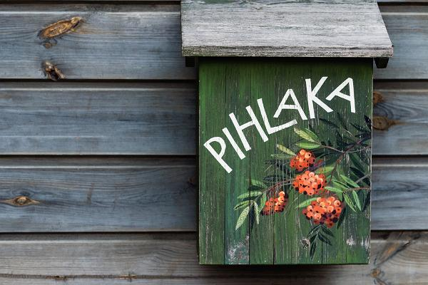 E-Tretroller-Verleih Pihlaka auf der Insel Kihnu