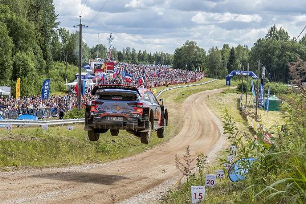 FIA World Rally Championship Rally Estonia