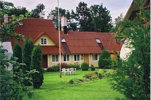 Seminarraum des Gästehauses des Rõuge Suurjärv