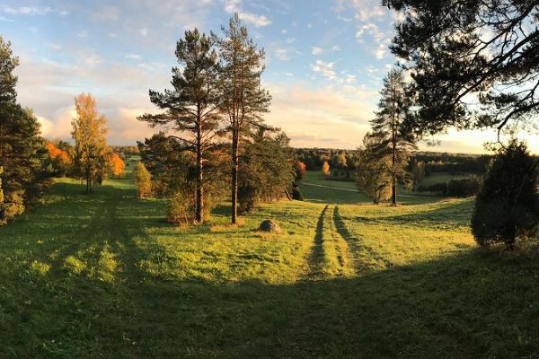 Disku golfa parks Palukilas ciematā