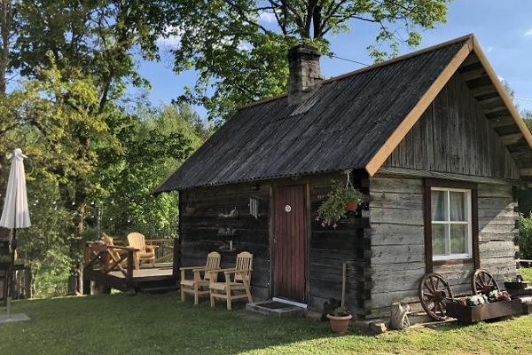 Anzelika Organic Farm Accommodation with sauna