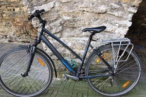 Pyörävuokraamo Kuressaaressa