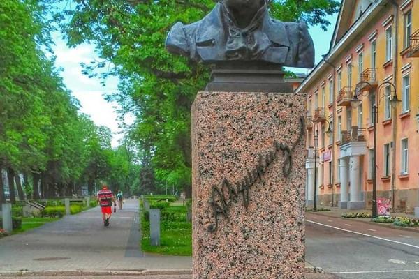 Monument to Aleksander Pushkin
