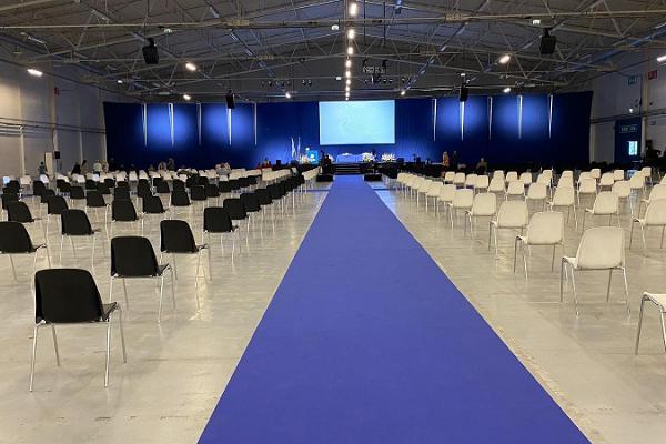 Eesti Näitused mässocenters konferenslokaler