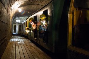 Gruvmuseums underjordsrestaurang