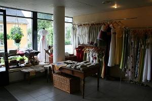 Piret Pilbergs Laden und Salon für Leinenkleidung