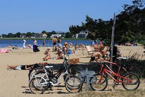 Der Strand Paralepa