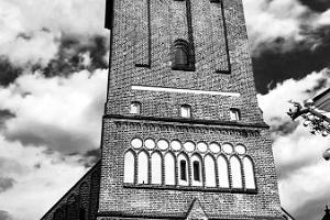 Tornet i Sankt Johannes kyrka i Tartu