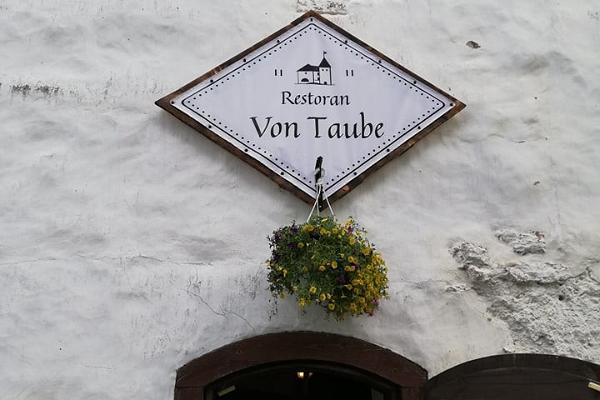 Purtses cietokšņ restorāns Von Taube