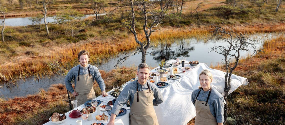 Estnisk mat som våra chefskockar ser den