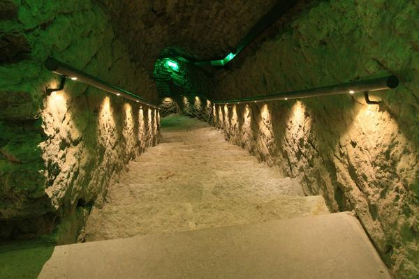Kiek in de Köki kindlustustemuuseum: Bastionikäigud ja Raidkivimuuseum