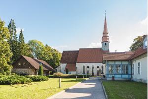 St Bartholomew's Church in Palamuse