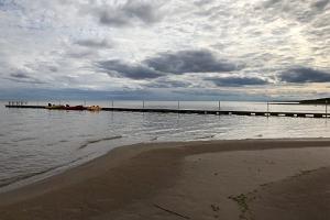 Kauksi Telšu nometne Peipusa ezera krastā