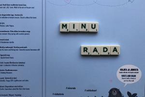 """Eestimaa täidetav seikluskaart """"Minu Rada"""""""