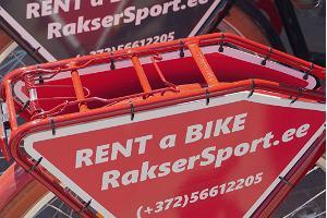 Fahrradverleih RakserSport in der Altstadt von Haapsalu