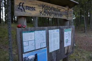 RMK Kooraste cycling trail