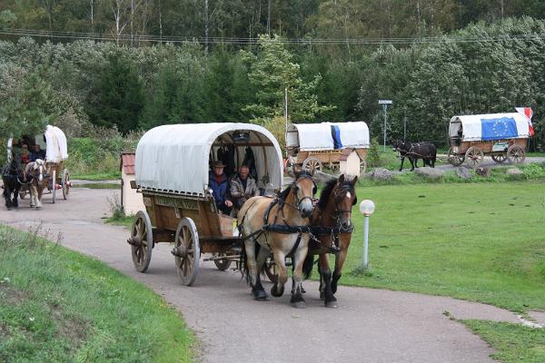 Hotelli Laagnassa pysähtyi hevosvaunu