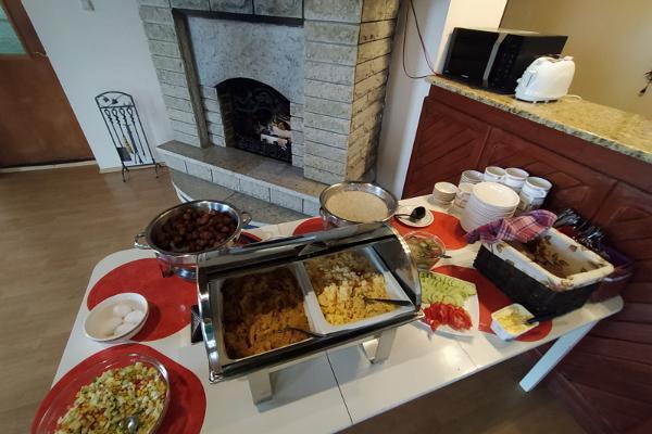 Hotelli Laagnan aamiaisvalikoima