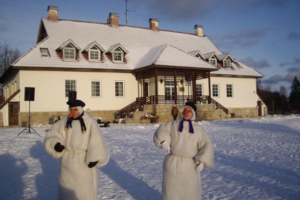 Hotelli Laagnan lomakylän talvinen tapahtuma
