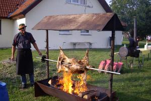 Holiday Village at Laagna Hotel, barbeque