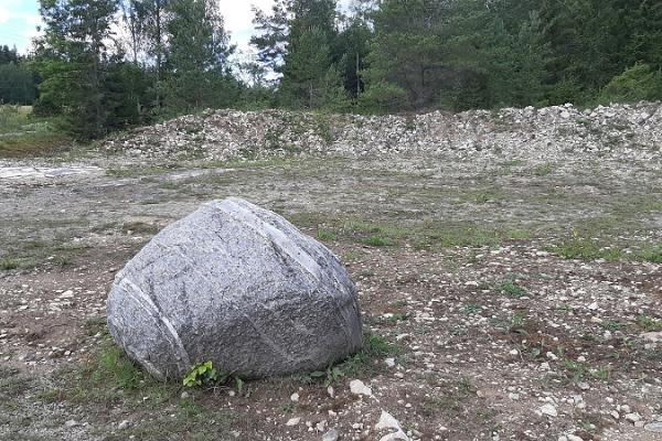 Kärdla meteoriidikraatri mudelväljak