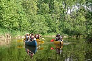 Canoeing in Soomaa National Park by Seikle Vabaks