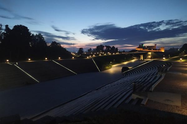 Vallimägi Open Air Centre in Rakvere
