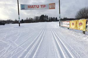 Skistrecke des Tartuer Marathons