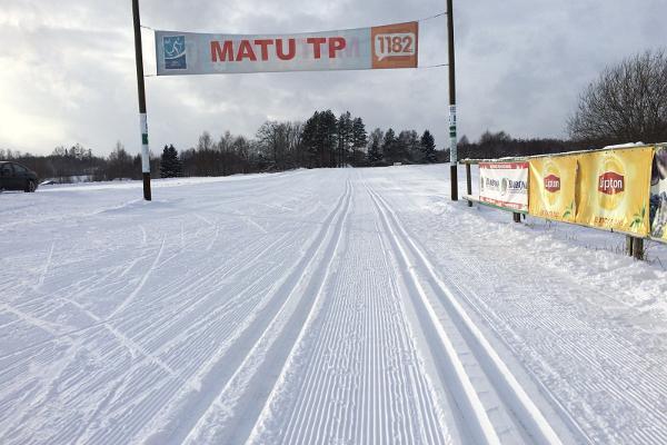Лыжная трасса Тартуского марафона