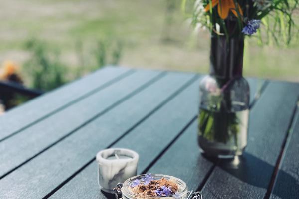 Tiramisu im Café Meremaa