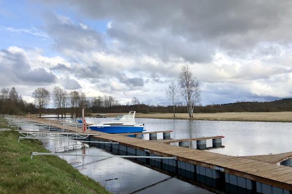 Luunja river port