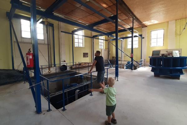 Lēvaku hidroelektrostacija - muzejs