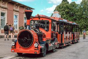 Vergnügungfahrten mit dem Zug Peetrike (Peterchen)