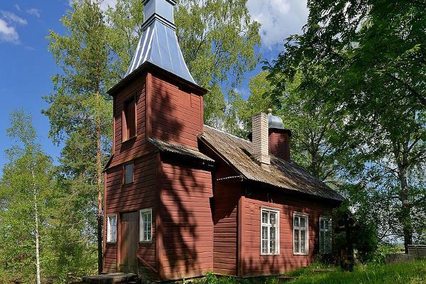 Церковь святого Александра Невского в Вялги